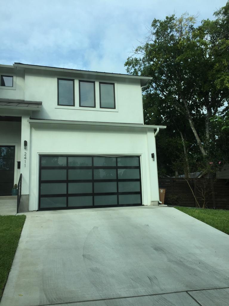 blackwindoweddoor & Residential Garage Door Photos | Lischers Overhead Doors